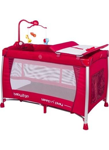 Baby2go Baby2Go 6103 Oyun Parkı  Kırmızı